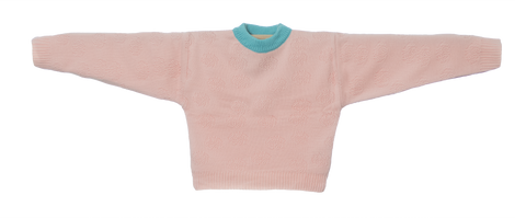 Knitted Mini Sweater   -  Orquidea Rosa