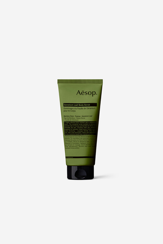 Aesop - Geranium Leaf Body Scrub - Grooming - Body Grooming - Body Scrub - Modern Anthology-