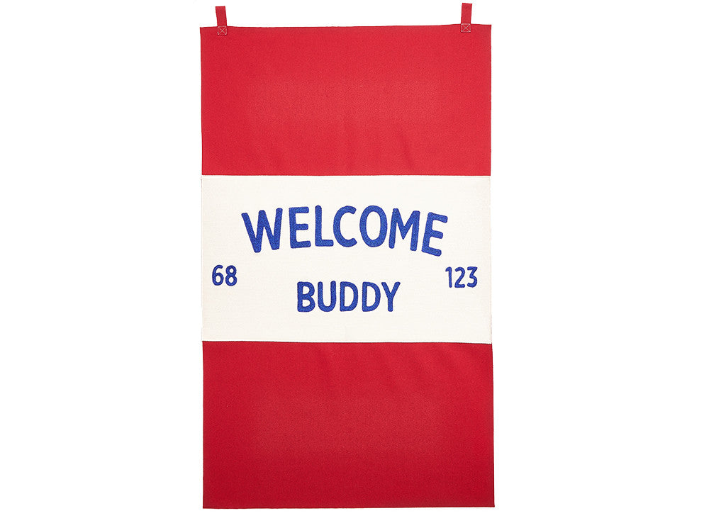 Knickerbocker - Welcome Buddy Banner - Modern Anthology - 1