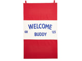 Knickerbocker - Welcome Buddy Banner - Habitat - Decor - Artwork Wall Hanging - Modern Anthology-