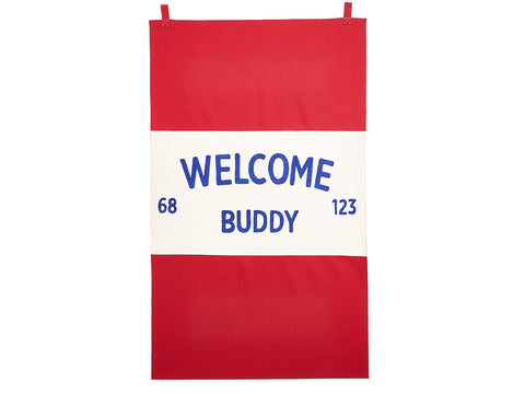 Welcome Buddy Banner