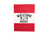 "B. Blakely Customs - ""Welcome Buddy"" Handshake Banner - Home - Decor - Artwork Print - Modern Anthology-"