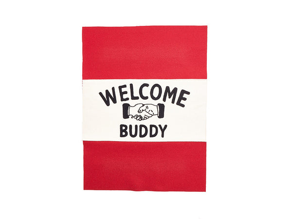 "Knickerbocker - ""Welcome Buddy"" Handshake Banner - Modern Anthology - 1"