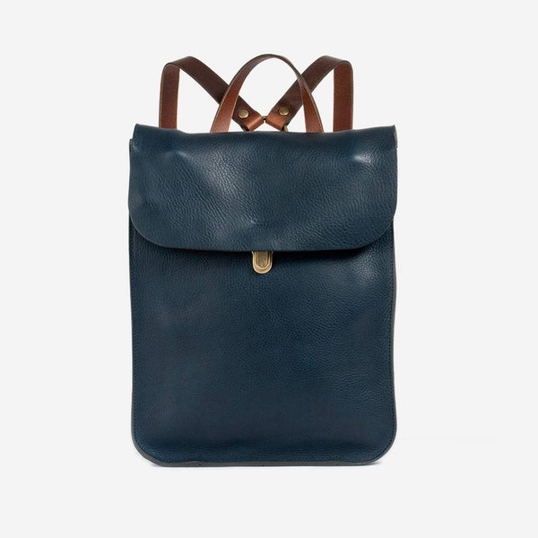 Bleu de Chauffe - Puncho Backpack Navy - Personal Accessories - Bag - Messenger - Modern Anthology-