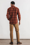Bridge + Burn - Cole Plaid Shirt Burgundy - CLOTHING - Top - Long Sleeve Button Down Shirt - Modern Anthology-