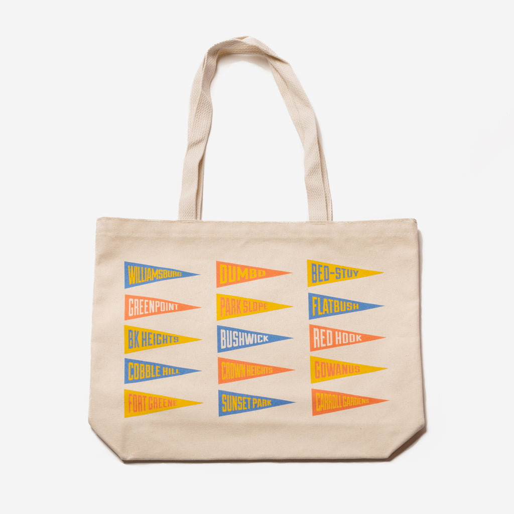 Oxford Pennant - Modern Anthology X Oxford Pennant Neighborhood Tote - Personal Accessories - Bag - Tote Bag - Modern Anthology-