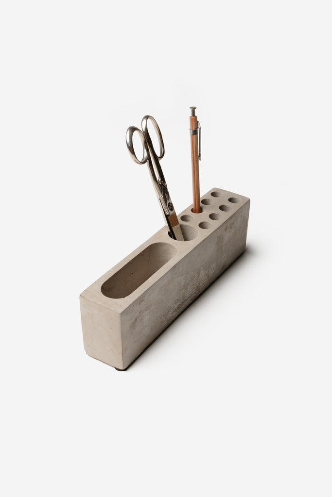 Homart - Cement Desk Organizer - Habitat - Office - Office Accessory& - Tool - Modern Anthology-