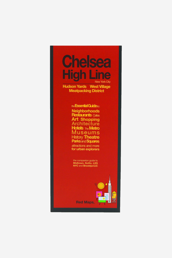 RED MAPS - Redmap Chelsea Guide Map - Habitat - Office - Book& - Media - Modern Anthology-