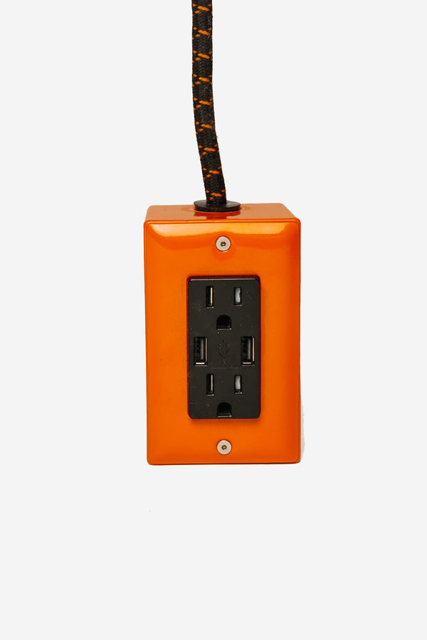 Conway Electric - Conway Exto +2 USB Orange - Habitat - Furniture - Lighting - Modern Anthology-