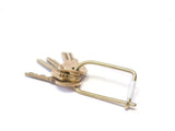 Craighill - Wilson Brass Keyring - Personal Accessories - Accessory - Key Fob - Modern Anthology-