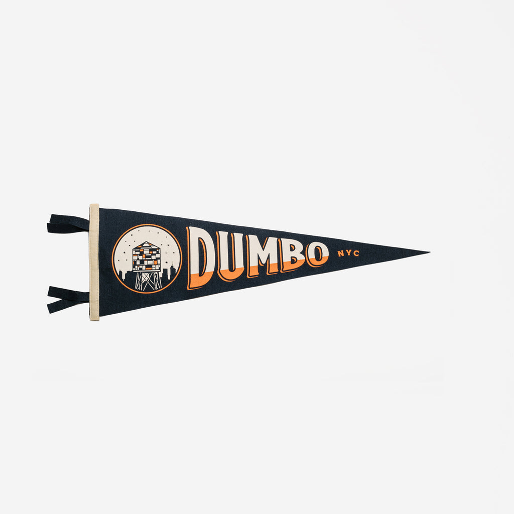 Oxford Pennant - Oxford Pennant DUMBO Pennant - Habitat - Decor - Artwork Wall Hanging - Modern Anthology-