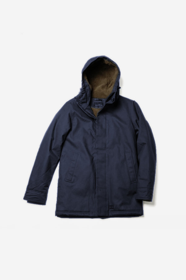 Dunderdon - J25 Jacket Navy - Clothing - Outerwear - Heavyweight Jacket - Modern Anthology-