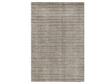 Dash & Albert - Cut Stripe Grey Rug - Modern Anthology - 1