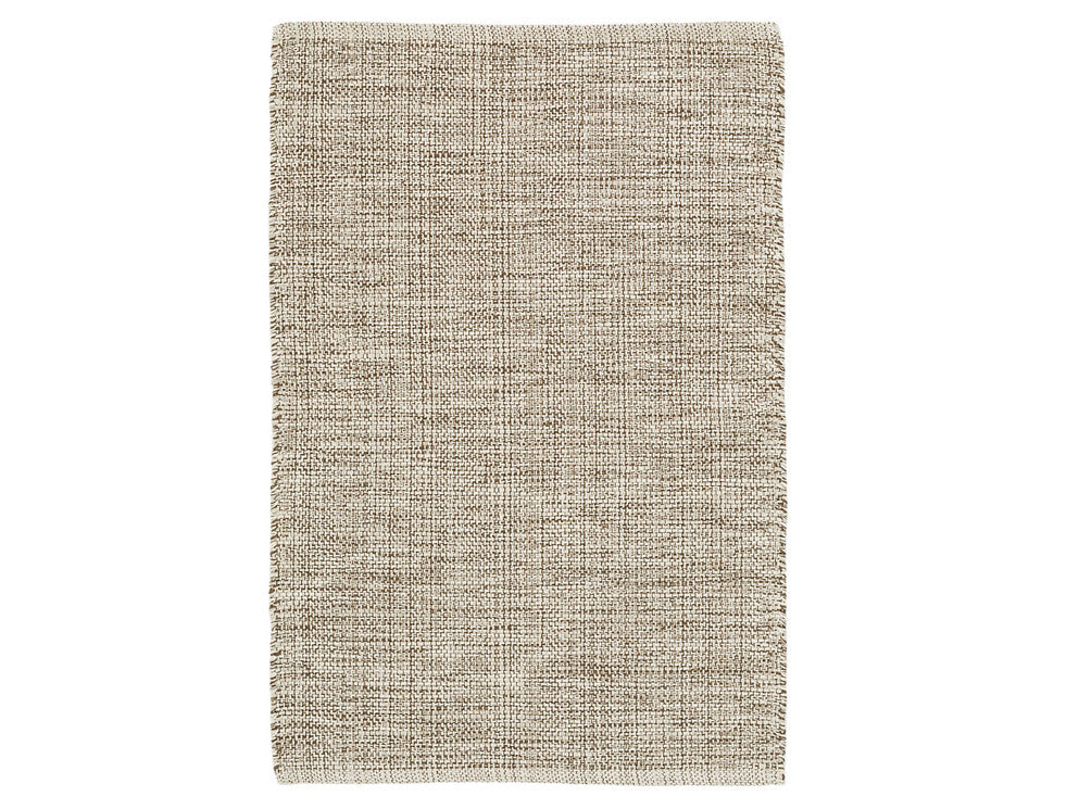 Dash & Albert - Marled Brown Cotton Rug - Modern Anthology - 1