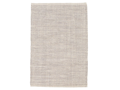 Marled Grey Cotton Rug