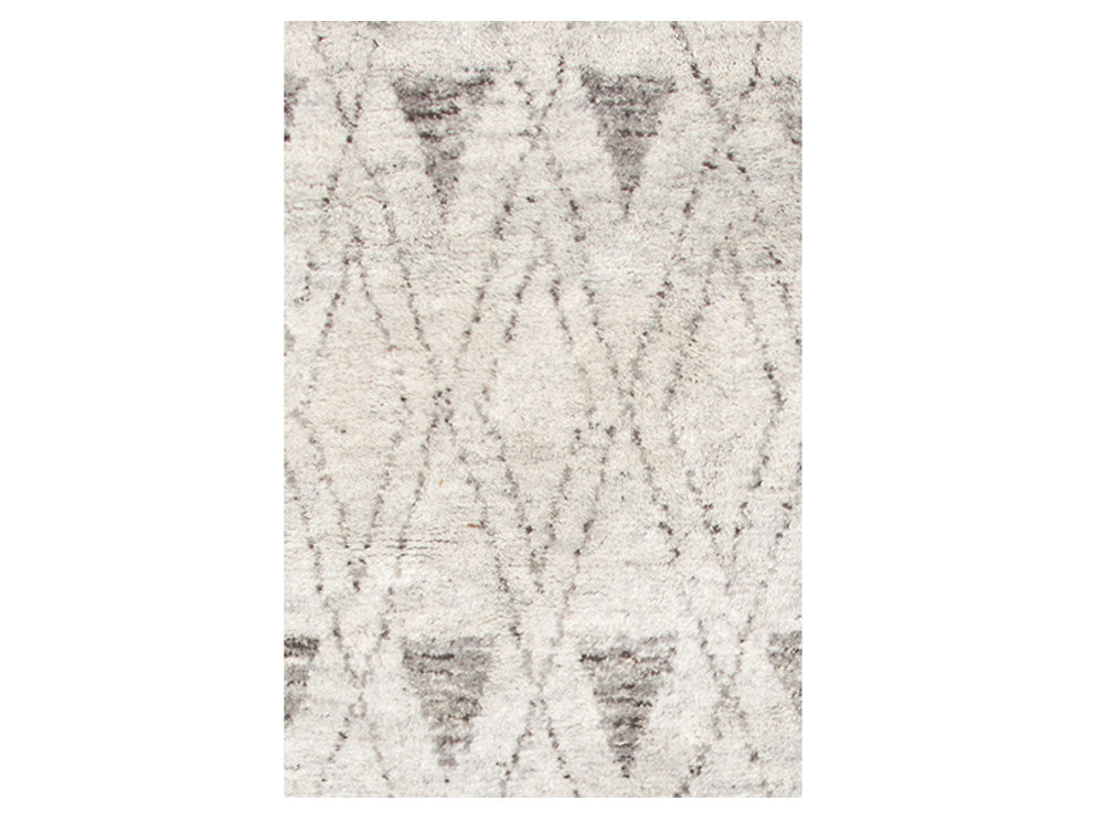 Dash & Albert - Masinissa Grey Diamond Rug - Modern Anthology - 1