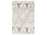 Dash & Albert - Masinissa Grey Diamond Rug - Home - Decor - Rug - Modern Anthology-