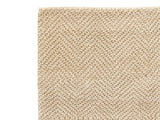 Dash & Albert - Nevis Sand Woven Jute Rug - Modern Anthology - 2
