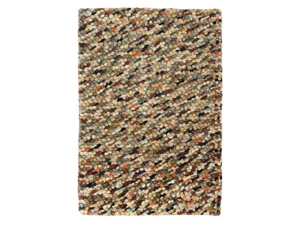Dash & Albert - Seurat Nuetral Wool Woven Rug - Modern Anthology