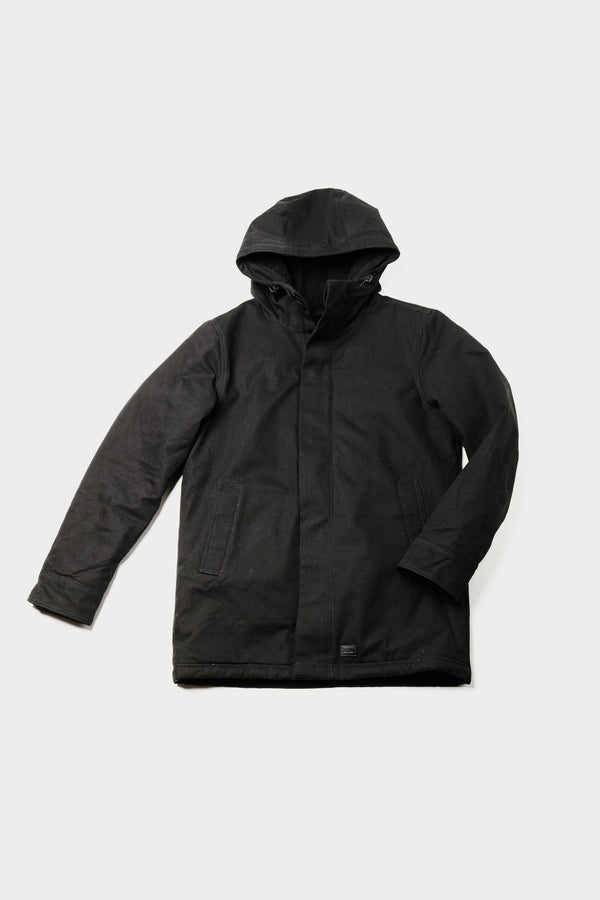 Dunderdon - J25 Black - Clothing - Outerwear - Heavyweight Jacket - Modern Anthology-