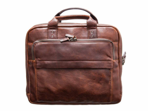 Moore & Giles - Jay Briefcase, Leather - MOORE & GILES - Modern Anthology-