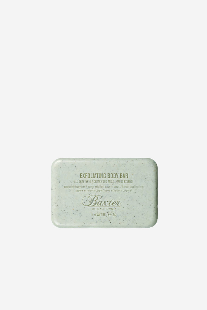 Baxter Of California - Exfoliating Body Bar - Grooming - Body Grooming - Bar Soap - Modern Anthology-