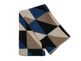 Happy Habitat - Angles ThrowCobalt - BEDBATH - Blanket - Throw Blanket - Modern Anthology-