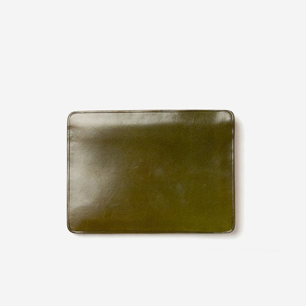 Il Bussetto - Card Wallet Pesto Green - Personal Accessories - Wallet - Credit Card - Modern Anthology-