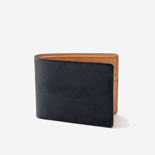 Il Bussetto - Slim Bi-Fold Wallet Black - Personal Accessories - Wallet - Billfold - Modern Anthology-