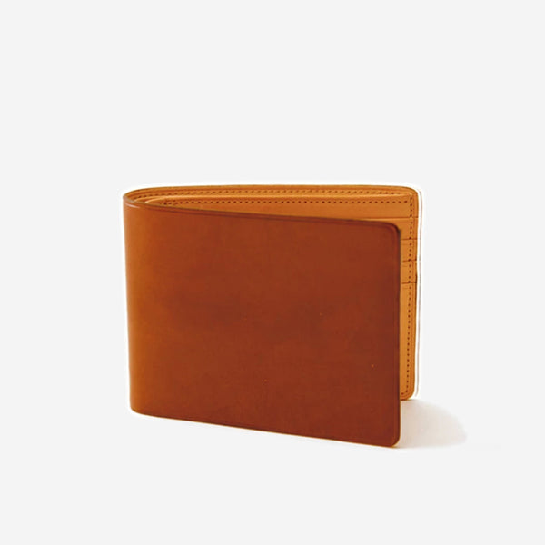 Il Bussetto - Slim Bi-Fold Wallet Orange - Personal Accessories - Wallet - Credit Card - Modern Anthology-