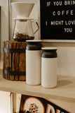 Kinto - Large Travel Tumbler White - Habitat - Tabletop - Dinnerware - Modern Anthology-