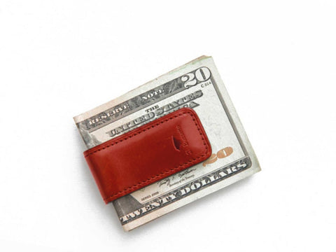 Money Clip Coral Red