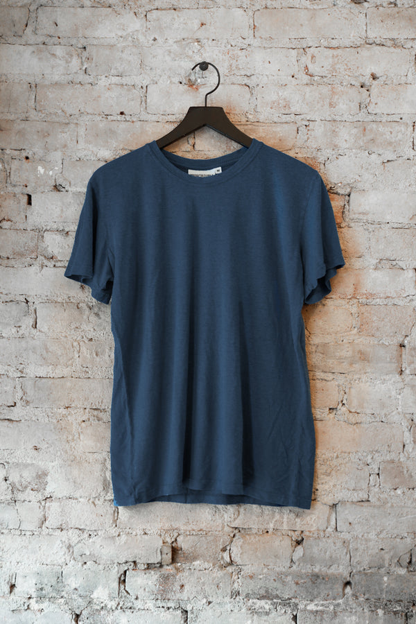 Jungmaven - JM Jung Tee 5oz, Navy - CLOTHING - Top - Short Sleeve TShirt - Modern Anthology-