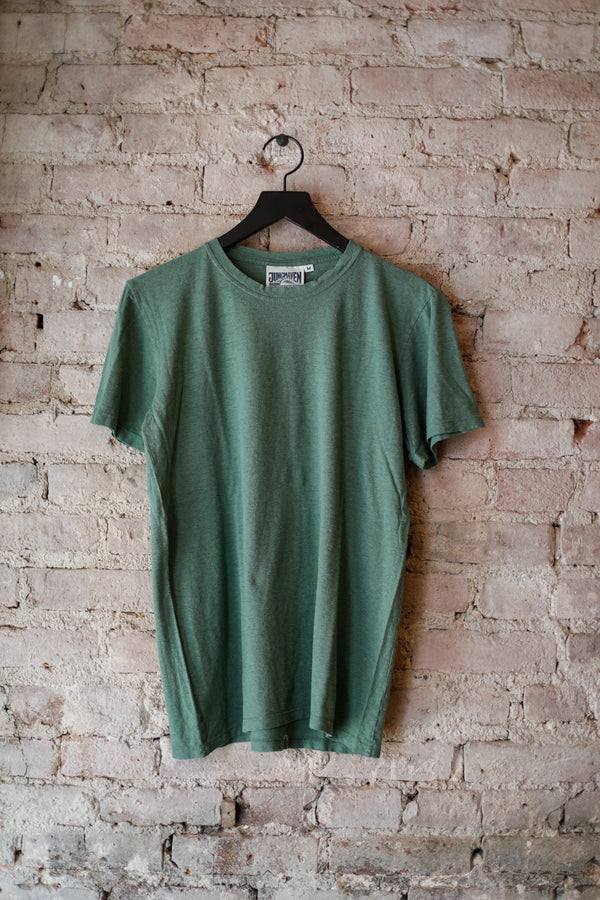 Jungmaven - JM Jung Tee 5oz, Spruce Green - CLOTHING - Top - Short Sleeve TShirt - Modern Anthology-