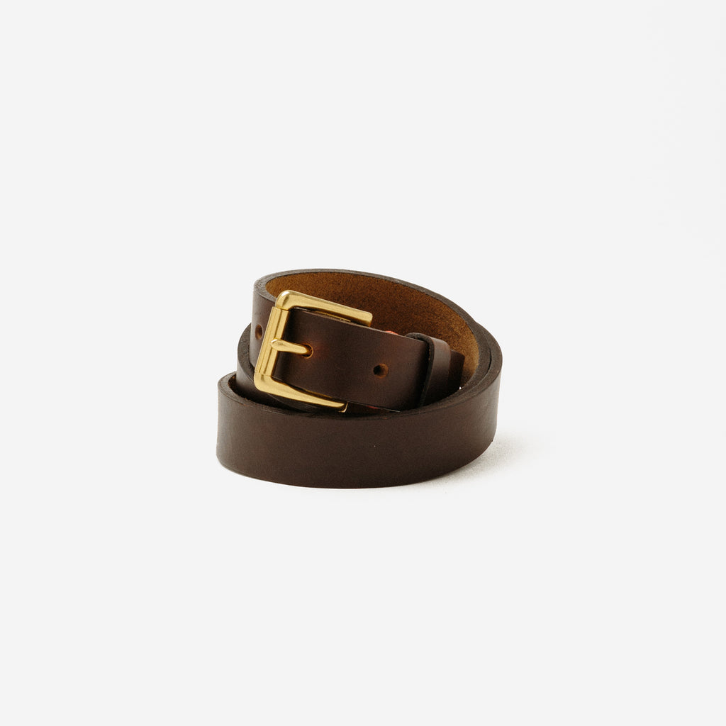 KC/KO - KC/KO Brown Belt - Clothing - Clothing Accessory - Belt - Modern Anthology-
