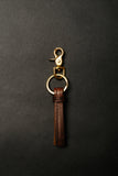 KC/KO Leather Key Fob Tassel