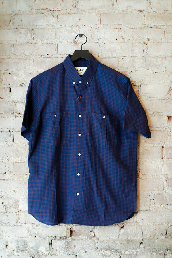 Kardo - Kardo Tommy Shirt, Blue - CLOTHING - Top - Long Sleeve Button Down Shirt - Modern Anthology-