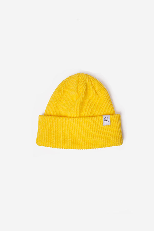 Modern Anthology - MA Classic Knit Beanie Yellow - Clothing - Clothing Accessory - Hat - Beanie - Modern Anthology-