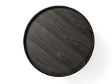 Theresa Arns - Turning Table Black Ash - FURNITURE - Table - Table - Modern Anthology-