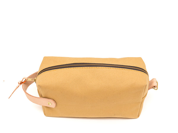 Modern Anthology - Dopp Kit Ochre - PERSONAL ACCESSORIES - Bag - Dopp Kit - Modern Anthology-