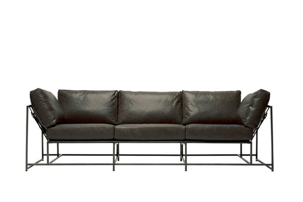 Inheritance Collection 3 Seat Leather Sofa - STEPHEN KENN - Modern Anthology - 1