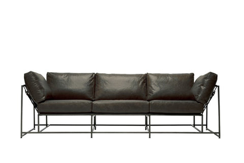 Inheritance Collection 3 Seat Leather Sofa