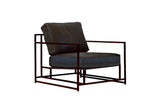 Inheritance Collection Leather Armchair - STEPHEN KENN - Modern Anthology - 1