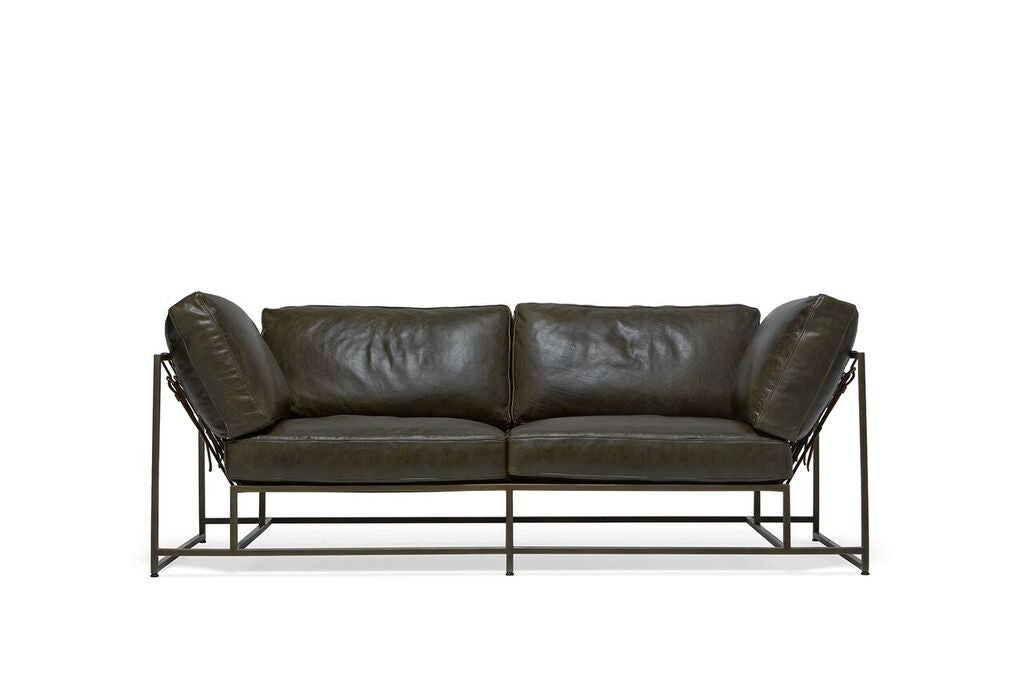 Inheritance Collection Two Seat Leather Sofa - STEPHEN KENN - Modern Anthology - 1