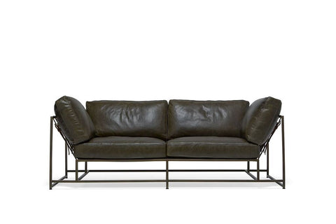 Inheritance Collection Two Seat Leather Sofa