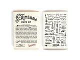 Mollyjogger - Scrimshaw Kit Trapper Knife - TABLE TOP - Utensil - Pocket Knife - Modern Anthology-