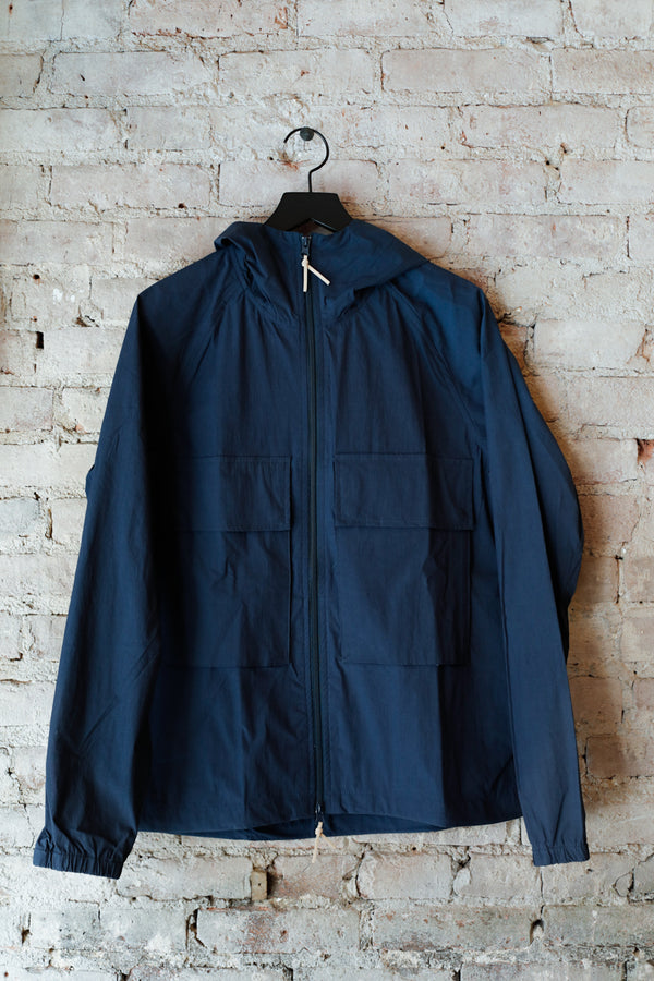 Native North - Native North Hooded Jacket, Navy - Clothing - Outerwear - Lightweight Jacket - Modern Anthology-
