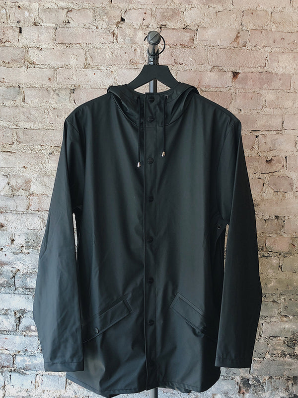Rains - RAINS Jacket Black - Clothing - Outerwear - Raincoat - Modern Anthology-