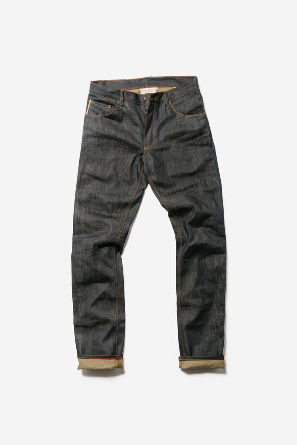 Raleigh Denim - Jones 211 Raw Denim - Clothing - Bottom - Denim - Modern Anthology-