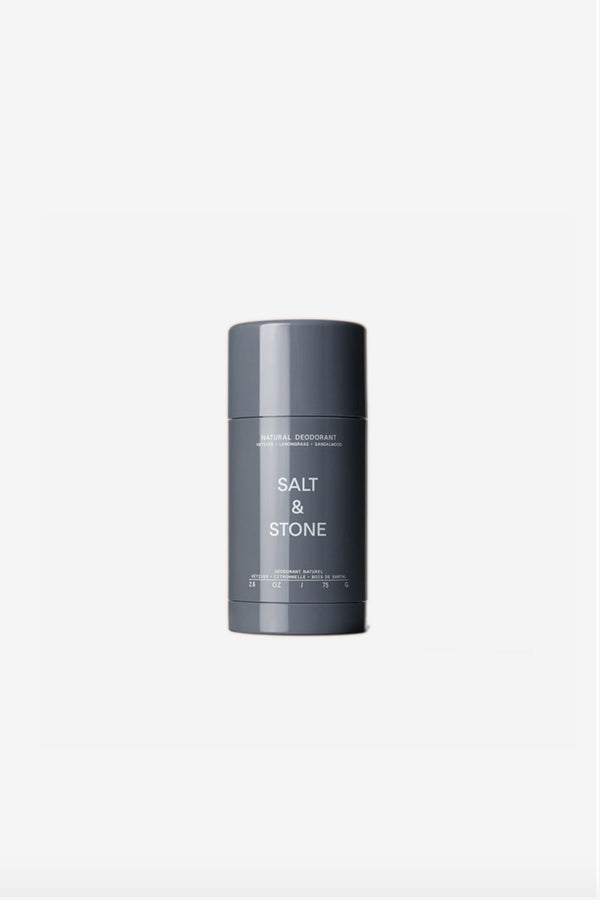 Salt + Stone - Salt + Stone Deodorant Vetiver/Lemongrass/Sandalwood - Grooming - Body Grooming - Deodorant - Modern Anthology-